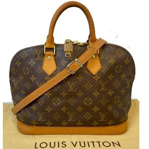 CERTIFIED AUTH. LOUIS VUITTON MONOGRAM ALMA PM